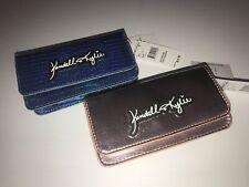 2-Kendall + Kylie Azul Iridiscente & Pink Metallic Embrague Bandolera Teléfono Nuevo