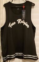 NEW True Religion Black Mesh Muscle Tank Mens Size Large 100817 Retail $79 NWT