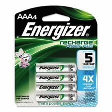 Energizer e² NiMH Rechargeable Batteries, AAA, 4 Batteries/Pack (EVENH12BP4)