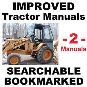 Case 480c Tractor SERVICE MANUAL & PARTS CATALOG -2- MANUALS - IMPROVED BEST CD