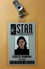 Flash/Arrow ID Badge -S.T.A.R.Labs Cisco Ramon prop cosplay