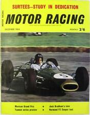 December Motor Racing Monthly Sports Magazines