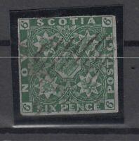 C2873/ BRITISH NOVA SCOTIA – SG # 6 USED – CV 1200 $