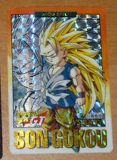 DRAGON BALL GT Z DBZ HONDAN PART 28 CARDDASS CARD PRISM CARTE 93 JAPAN 1996 NM--