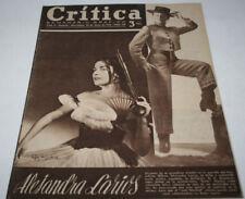 REVISTA CRITICA, 130, 1954, ALEJANDRA LARIOS, MARILYN MONROE, CARMEN DE LIRIO, C