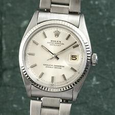 Rolex Datejust 36 Stahl / Weissgold Automatik Herrenuhr Oyster Perpetual 1601