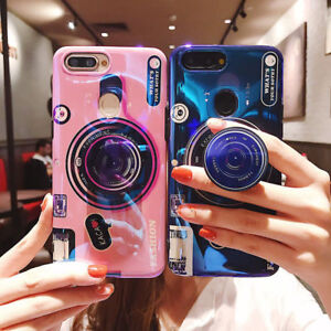 Retro Camera Shockproof Back Phone Case Cover For iPhone 11 Pro Max 7 8 &Samsung