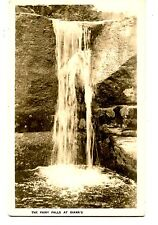 Fairy Waterfall Diana's-N Conway-New Hampshire-RPPC-Vintage Real Photo Postcard