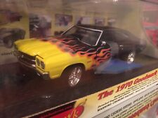 Classic Metal Works Goodmark 1970 Chevy Chevelle Black With Flames 1:24