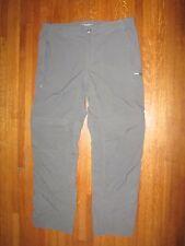 COLUMBIA Men's Omni Shade Ultralight Convertible Travel Pants Shorts  38 X 34