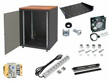 """19"""" Netzwerkschrank 15HE 600x600 Serverschrank+Zubehör ZPAS"""