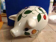 Cute Ladybug & Butterfly Piggy Bank
