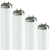 T12 Fluorescent Tubes 2ft 20w, 4ft 40w, 5ft 65w, 6ft 75w, 8ft 100w - 835 3500k