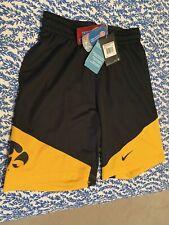 New w/Tags Iowa Hawkeyes Nike Dri-Fit Basketball Shorts Mens Small Team Jersey