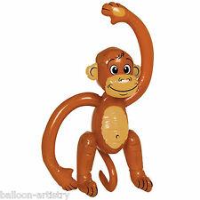 "20"" Inflatable Jungle Monkey tropical animal chimp ape party decoration prop"