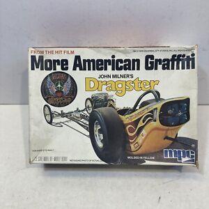 "VINTAGE 1979 MPC ""MORE AMERICAN GRAFFITI "" JOHN MILNERS DRAGSTER Vtg 1-0672"