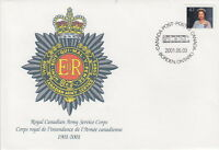 CANADA #S45 Royal Canadian Army Services Corps 1901-2001 Special Event Cover
