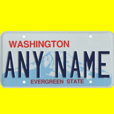 1/43-1/5 scale custom license plate set any brand RC/model car - Washington tag