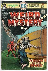 Weird Mystery Tales #22 (DC, 1975) – Ernie Chan cover – Horror Comic – FN-