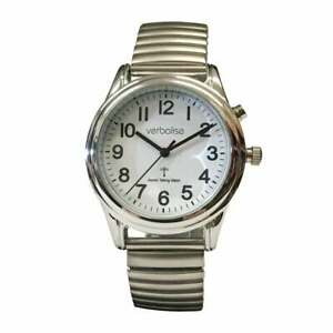 Ladies Talking Radio Controlled Watch with Expanding Strap