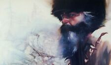 Hal McClintock American Mountain Man By Guy Manning Signed Numbered Lithograph