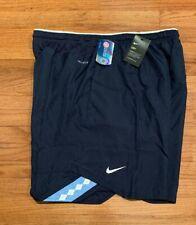 599a58612e64 Men s Nike Navy UNC Carolina Tar Heels Sideline Vapor Dri-FIT Shorts NWT 4XL