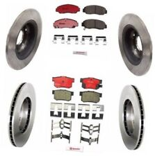 Accord Coupe V6 Front / Rear Brembo Disc Brake Rotors And Disc Brake Pads