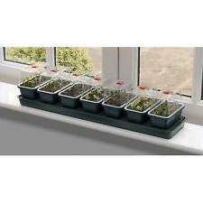 More details for garland g136 super 7 self watering windowsill propagator plant seed vented trays