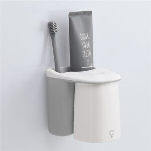 Bathroom Accessories Toothbrush Holder Toothpaste Storage Organizer Glass for To