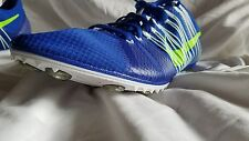 Nike Zoom Victory 2 Track Spikes Shoes Size 11.5 Blue