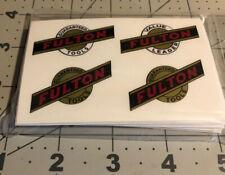 Fulton Guaranteed Tools Value Leader U.S.A. Decals reproduction Set 4