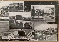Cartolina Cassano d'Adda Milano Non viaggiata