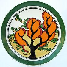 Wedgwood Bizarre by Clarice Cliff Decorative Plate Orange Erin