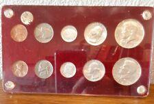 1964 US Silver Set,10 coins, plastics holder