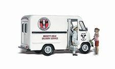 Woodland Scenics Auto Scene Mickey'S Milk Delivery Ho Scale