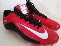 2015 Nike Alpha Men's Red Black White Football Cleats Sz US 12 New Without Box