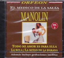 Manolin El Medico de Salsa Vol 3 CD New Nuevo Sealed