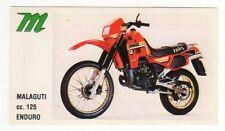 figurina MOTOR SHOW BAGGIOLI 1986 NEW numero 52 MALAGUTTI ENDURO