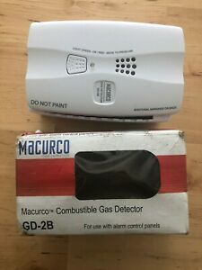 MACURCO GD-2B Fixed Gas Detector,C3H8, CH4,0 to25% LEL