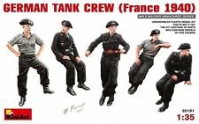 MINIART GERMAN TANK CREW FRANCE 1940  Scala 1:35 cod.MA35191