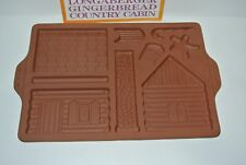 Longaberger Gingerbread Country Cabin 1996 pre-owned 33090