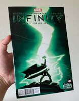Infinity 4. Rare Newsstand Variant. 2013. 1st Thane son of Thanos.