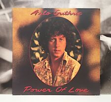 ARLO GUTHRIE - POWER OF LOVE LP EX/NM GERMANY 1981 WARNER WB 56 910
