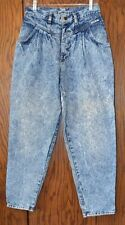 "Vintage 1980-90s ""Cherokee"" Denim Acid Washed  Women's  Jeans"
