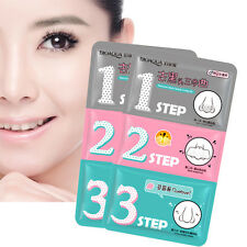 Pig-nose Mask Clear Black Head Nose 3 Step Removal Kit Beauty Korean Cosmetics