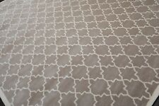 9' x 12' Handmade 100% Wool Oriental Area rug 9x12 Contemporary Taupe