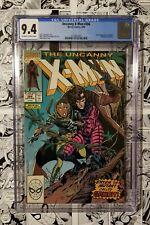 🔥 X-MEN #266 CGC 9.4 First GAMBIT Modern KEY HOT BOOK 🔥
