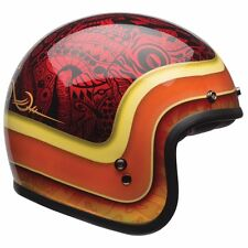2017 Bell Custom 500 Hart Luck Open Face Motorcycle Retro Bobber Helmet Medium