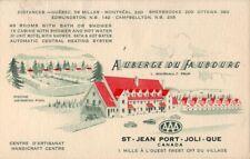 AUBERGE DU FAUBOURG L Bourgault, Prop ST- JEAN PORT- JOLI QUE Centre D'Artisanat