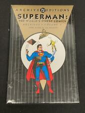 DC ARCHIVES EDITION, SUPERMAN World's Finest VOL 2, HARD COVER, HC, SEALED (CC2)